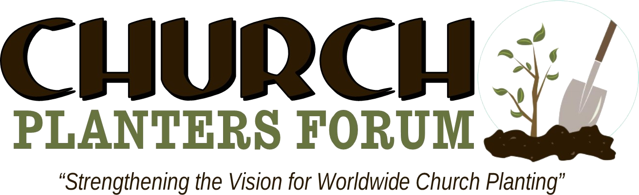 church planters forum header logo with tagline